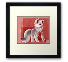 Little Pup Framed Print