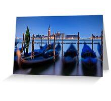 Dance of the Gondolas - Venice, Italy Greeting Card