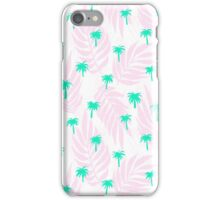 Palm Trees and Leaves iPhone Case/Skin