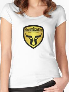 ShawnDonEnt Logo Women's Fitted Scoop T-Shirt