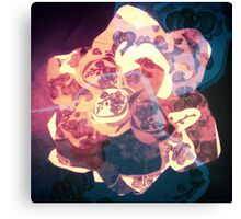 Orchid Explosion - Floral Geometry Study  Canvas Print