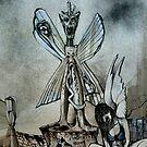 Sanctum Sanctorum ( caricature )  by John Dicandia ( JinnDoW )