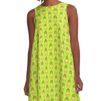 Who Lives in a Pineapple Under the Sea? A-Line Dress