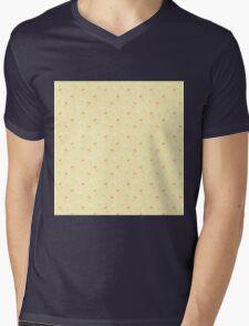 Pale Flowers Mens V-Neck T-Shirt