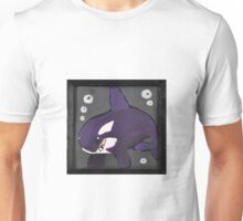 Moody Little Orca Unisex T-Shirt