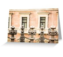 Gothic Finials - Milan, Italy Greeting Card