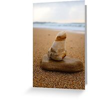 abstract stones Greeting Card