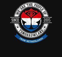 People of Tomorrowland Flags logo Badge - Netherlands - Nederlanden - Dutch - Pays-Bas Unisex T-Shirt