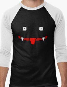 Dark Face Men's Baseball ¾ T-Shirt