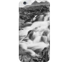 Black Falls iPhone Case/Skin
