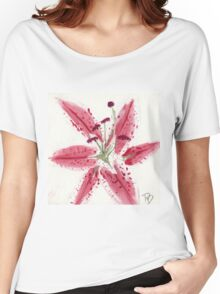 Pink Orchid Women's Relaxed Fit T-Shirt