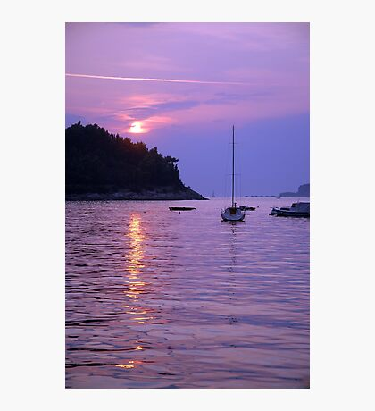 Adriatic Sunset Photographic Print
