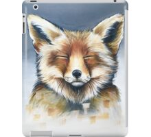 Fox cropped iPad Case/Skin