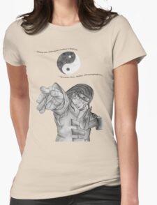 Neji Kun Yin Yang Womens Fitted T-Shirt