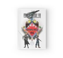 Final Fantasy VII - Shinra (White) Hardcover Journal