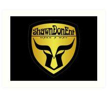 ShawnDonEnt Logo Art Print
