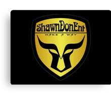 ShawnDonEnt Logo Canvas Print