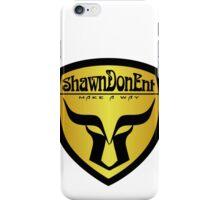 ShawnDonEnt Logo iPhone Case/Skin