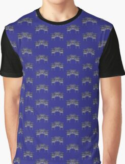 Geometric arch in grey Graphic T-Shirt
