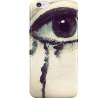 Tears of sorrow iPhone Case/Skin