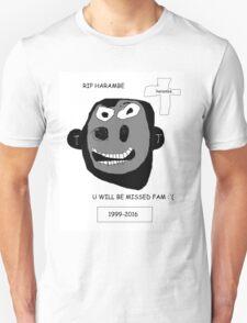 Harambe Lives On Unisex T-Shirt