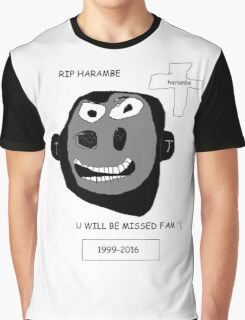 Harambe Lives On Graphic T-Shirt