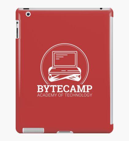 Bytecamp White iPad Case/Skin
