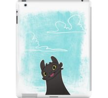 up in the clouds iPad Case/Skin