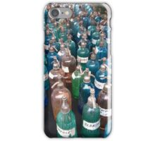 French Coloured Bottles iPhone Case/Skin