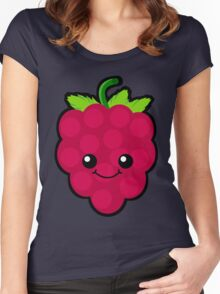 Raspberry Beret Women's Fitted Scoop T-Shirt