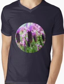 Purple Haze Mens V-Neck T-Shirt