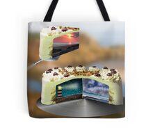 curiosity cake Tote Bag