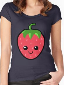 Strawberry Fields Forever Women's Fitted Scoop T-Shirt