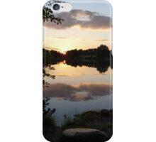 Sunset on Greenbelt Lake iPhone Case/Skin