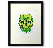 Liquid Skull Framed Print