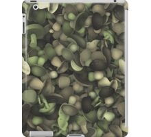 Camouflage heap of mushrooms iPad Case/Skin