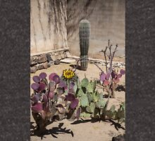 USA. Arizona. Mission San Xavier del Bac. Cactus Garden. Unisex T-Shirt