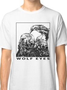 Wolf Eyes Burned Mind Classic T-Shirt