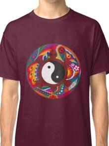 Psychedelic Turtle Yin Yang Classic T-Shirt