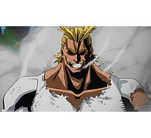 All Might Photographic Print