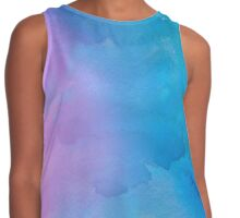 Purple and Blue Watercolor Contrast Tank