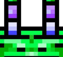 8bit Pixel Art Frog & Fly BFF Sticker
