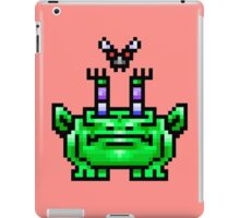 8bit Pixel Art Frog & Fly BFF iPad Case/Skin