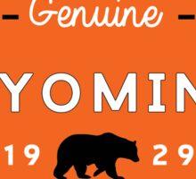 GRAND TETON NATIONAL PARK WYOMING GENUINE BEAR 1929 2 Sticker