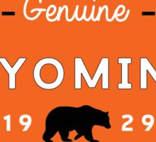 GRAND TETON NATIONAL PARK WYOMING GENUINE BEAR 1929 2 Sticker