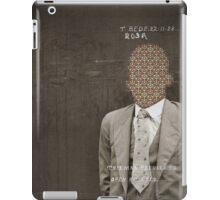 T. Bede iPad Case/Skin