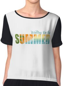 Waiting for the Summer Chiffon Top