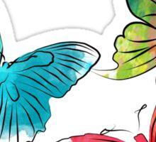 Butterflies Sticker