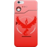 Pokemon Go Team Valor Pokedex iPhone Case/Skin