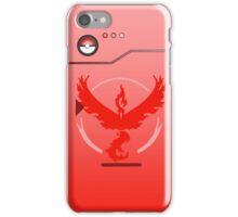 Pokemon Go Team Valor Pokedex iPhone Case/Skin